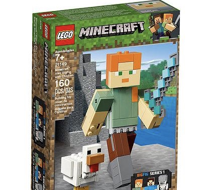Minecraft 21149 Maxi Figure Alex e Gallina