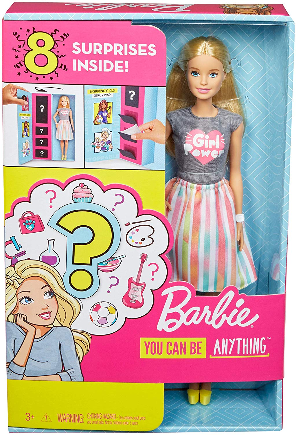 Barbie carriera 8 sorprese