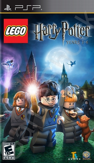 Psp Lego Harry Potter 1-4