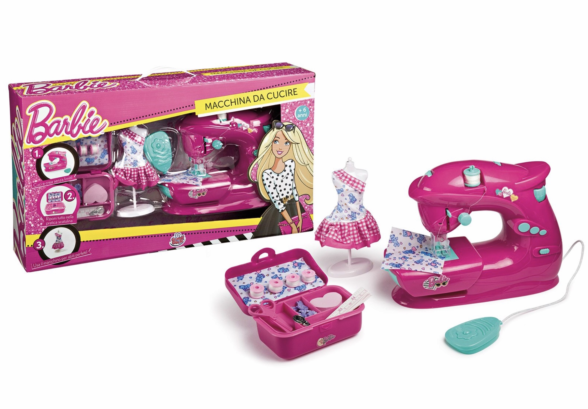 Giocattolo macchina da cucire maggie e Bianca