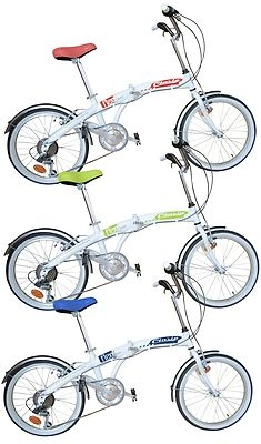 Bici Cinzia Pieghevole.Bici Pieghevole 20 Flexy Lady 6v 170 40eur Bianco Giochi