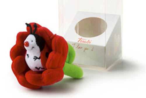 Sweet Collection Coccinella con Fiore